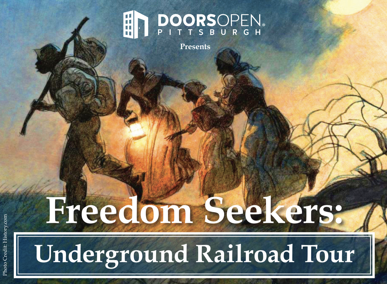 Freedom Seekers: Underground Railroad Tour