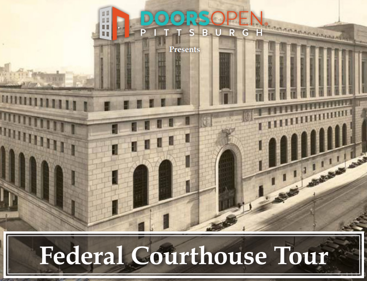 Walking tour of federal courthouse