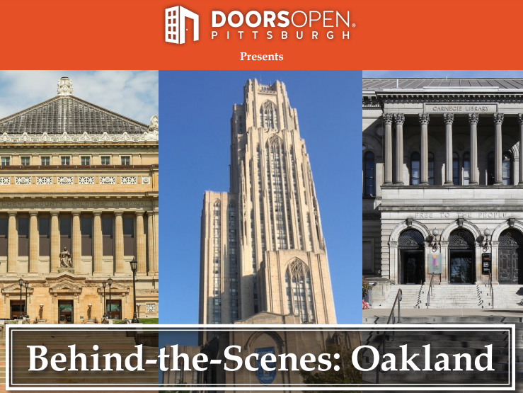 behind the scenes walking tour in Oakland