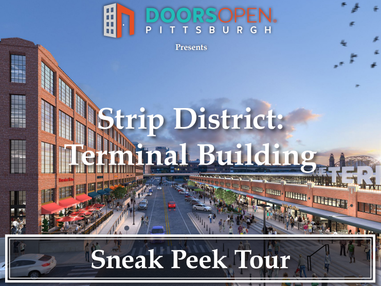 Walking tour of the Terminal Building in the Strip District