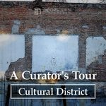 art walking tour, curator experience
