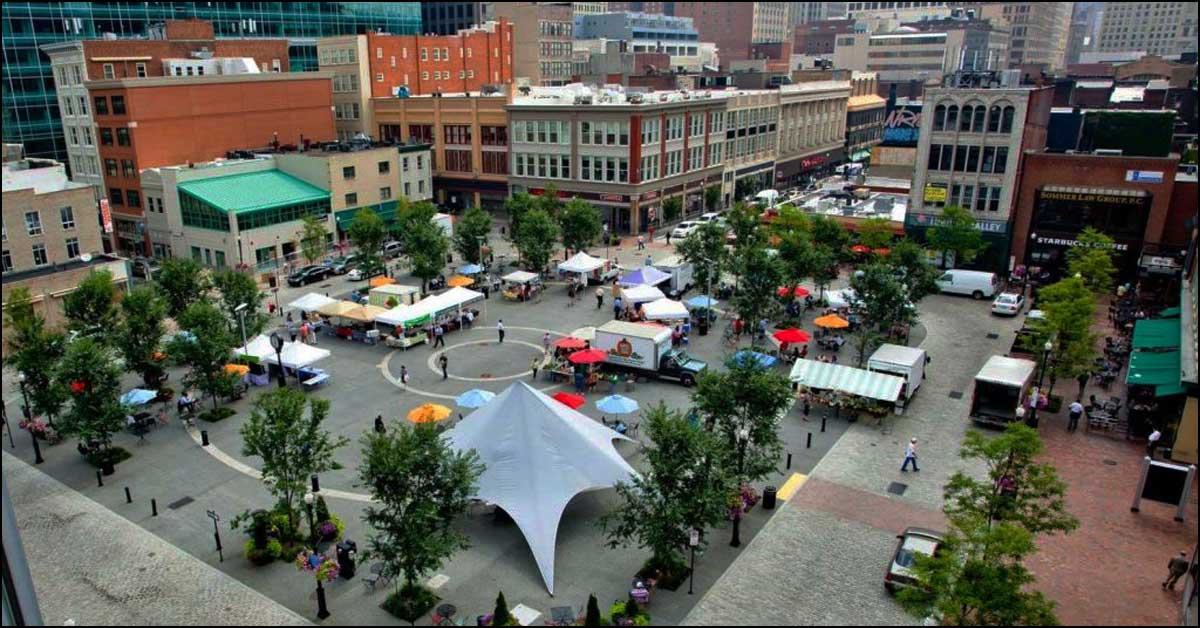 Market Square — Open for Business Since 1764