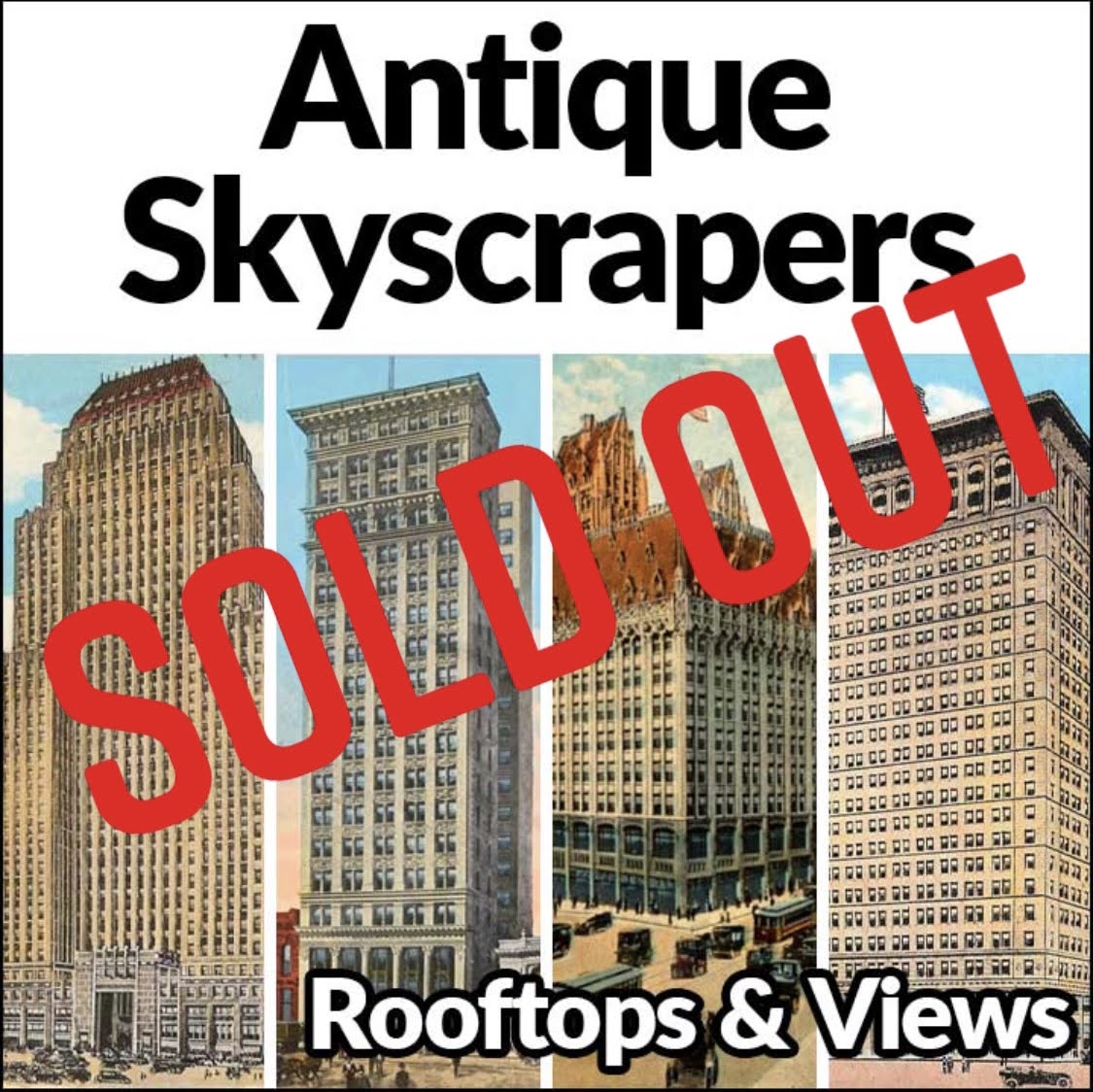 Antique Skyscrapers Guided Walking Tour
