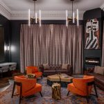 The Industrialist Hotel lounge