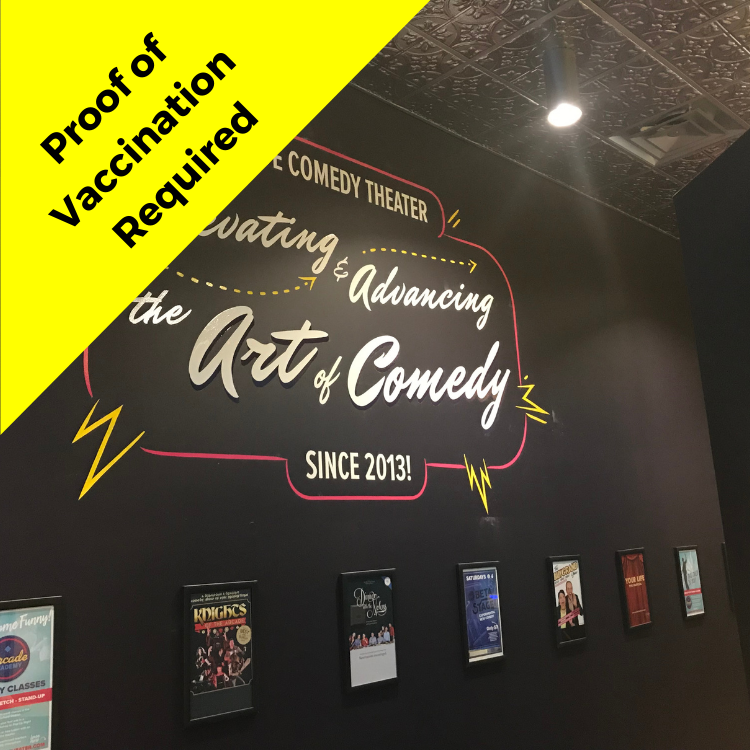 Arcade Comedy Theater Vaccination Required